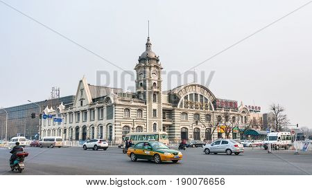 Cars And Zhengyangmen East Railway Station