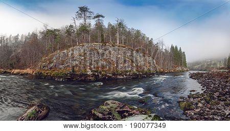 Norwegian Mountain River