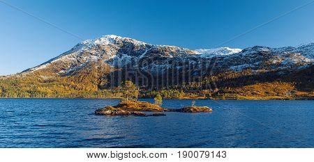 Norwegian Autumn Landscape