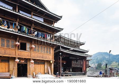 Guest House In Folk Custom Centre Of Chengyang