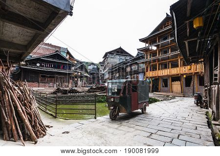 Courtyard Of Country Houses In Chengyang Village