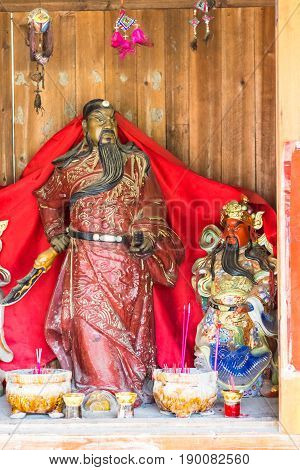 Religious Figures In Chengyang Village