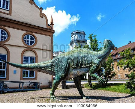 KASSEL, GERMANY-JUNE 18, 2014: Museum of Natural History in Kassel