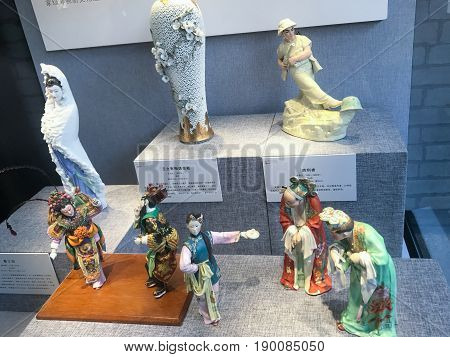 Various Figurines In Chen Clan Ancestral Hall