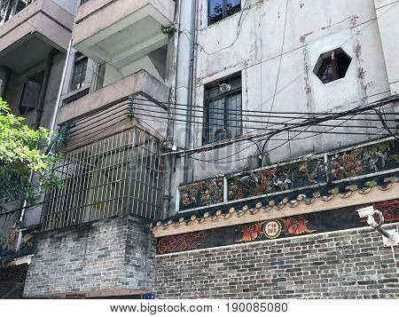 Residential Urban House Of Guangzhou City