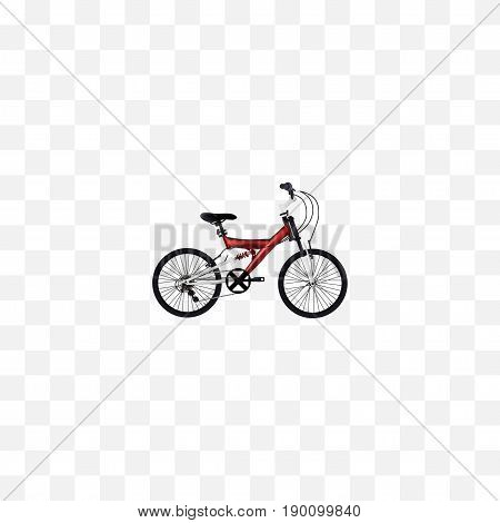 Realistic Teenager Element. Vector Illustration Of Realistic Adolescent Isolated On Clean Background. Can Be Used As Adolescent, Teenager And Bike Symbols.