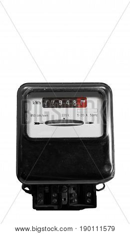Electricity Meter For Measuring The Energy Consumption
