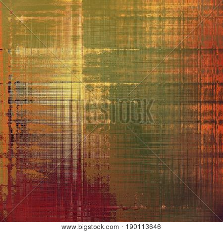 Grunge texture, may be used as retro-style background. With different color patterns: yellow (beige); brown; green; red (orange); purple (violet); pink