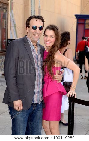 LOS ANGELES - JUN 3:  Gabriel Jarret, Alicia Arden at the Etheria Film Night 2017 at the Egyptian Theater on June 3, 2017 in Los Angeles, CA