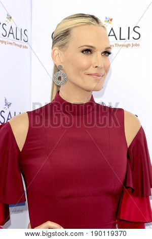 LOS ANGELES - JUN 3:  Molly Sims at the 16th Annual Chrysalis Butterfly Ball at the Private Estate on June 3, 2017 in Los Angeles, CA
