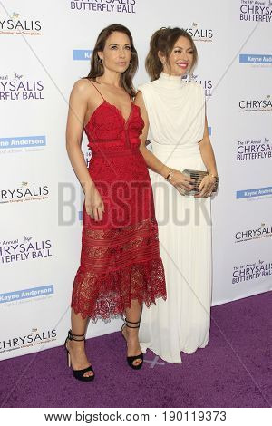 LOS ANGELES - JUN 3:  Claire Forlani, Rebecca Gayheart at the 16th Annual Chrysalis Butterfly Ball at the Private Estate on June 3, 2017 in Los Angeles, CA