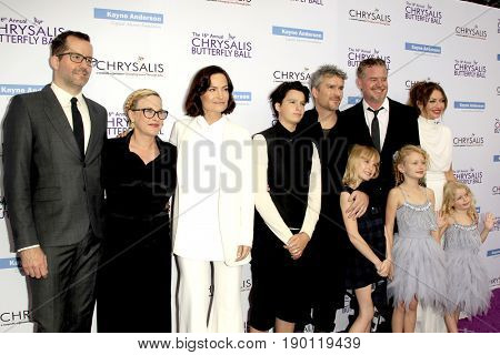 LOS ANGELES - JUN 3:  Eric White, P Arquette; Rosetta, Balthazar, Violet, and June Getty; Eric Dane, Rebecca Gayheart at the Butterfly Ball at the Private Estate on June 3, 2017 in Los Angeles, CA