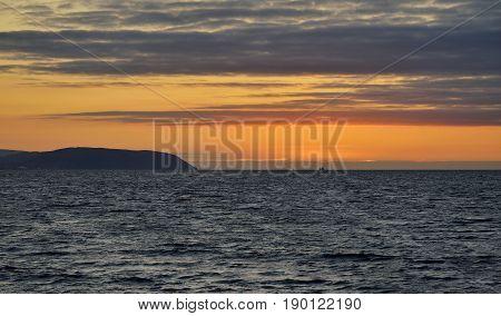 Sunset On North Hill, Minehead