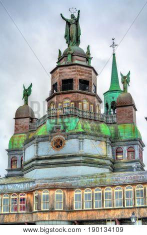 The Notre Dame de Bon Secours Chapel in Montreal, Canada