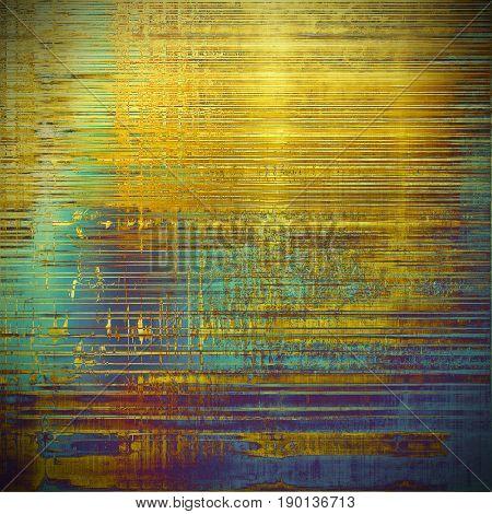 Elegant vintage background, antique texture. Designed grunge template with different color patterns: blue; cyan; yellow (beige); brown; purple (violet)