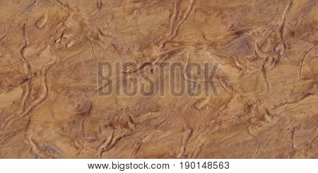 Fictional Mars Soil Aerial View Seamless Texture Pattern