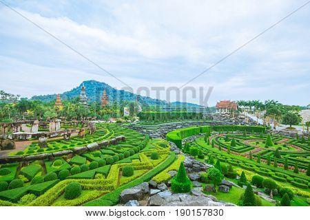 Stoneheng Nad French Garden At Nong Nooch Garden Pattaya.