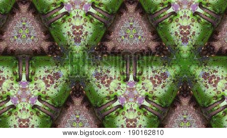Green Metal Rust Texture Abstract Pattern