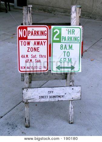 Tow Away Parking