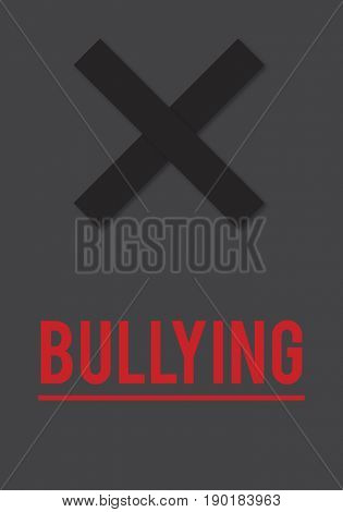 Cyber Bullying Abusement Harassment Trolling