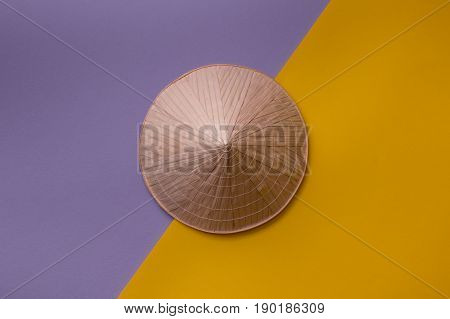 Conic Hat On Creative Background