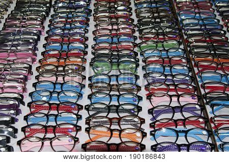 glasses optician store indoors  lens  design wear