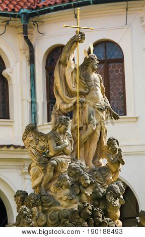 Statue Of Christ At Loreta, Prague