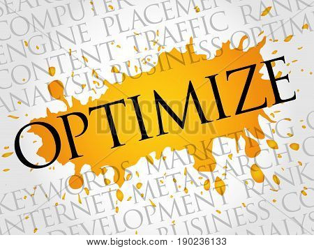 Optimize Word Cloud Collage