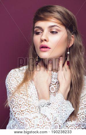 Sensual Beautiful Woman