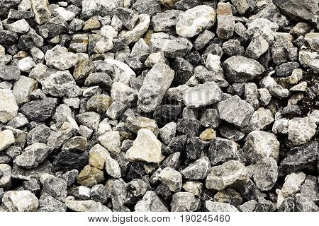 Background of stone surface on ground texture.