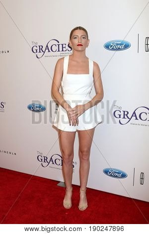 LOS ANGELES - JUN 6:  Brittney Berault at the 42nd Annual Gracie Awards at the Beverly Wilshire Hotel on June 6, 2017 in Beverly Hills, CA