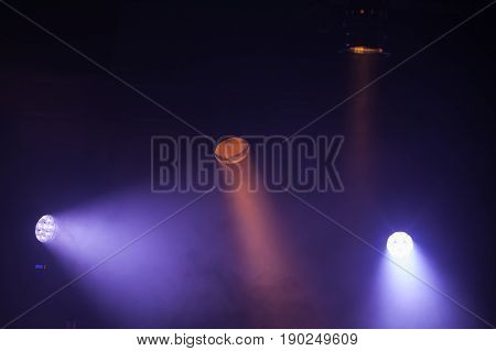 Colorful Scenic Spot Lights With Strong Beams