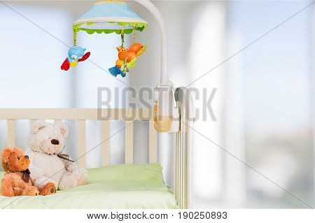 Baby cot image white background element design