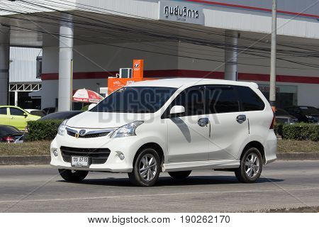 Private Toyota Avanza Car. Mini Suv Car For Urbun User