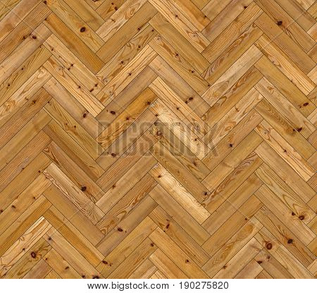 Herringbone natural parquet seamless floor texture background