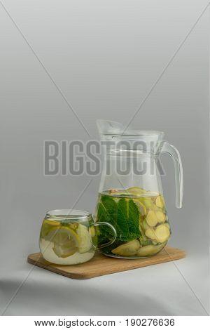 Свежий натуральный напиток Sassy - очищение, омоложение, здоровье