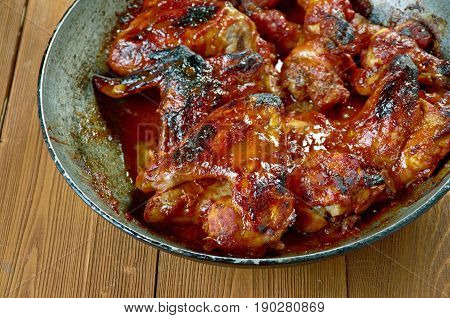 Italian Chicken Wings In Sauce