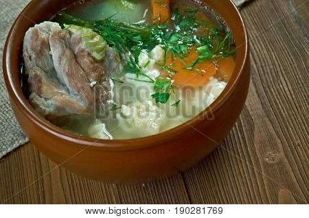 Russian Peasant Soup