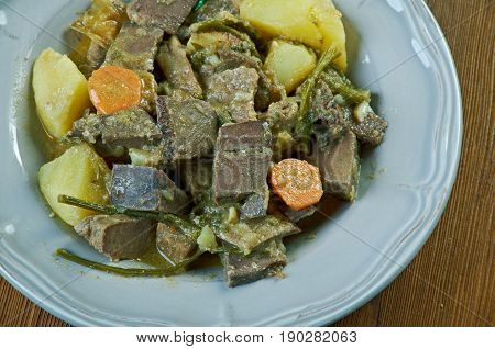 Goulash From Beef Heart