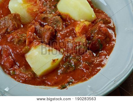 Cape Malay Mutton Stew