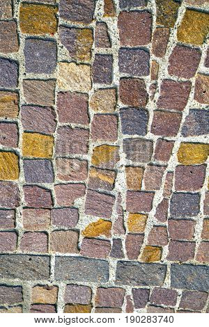 Milan   Italy Old Church Concrete Wall  Brick   The    Abstract