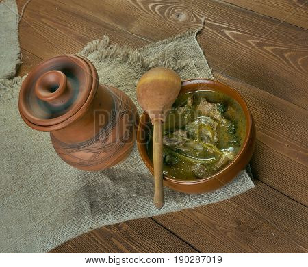 Stewed Mutton Medieval