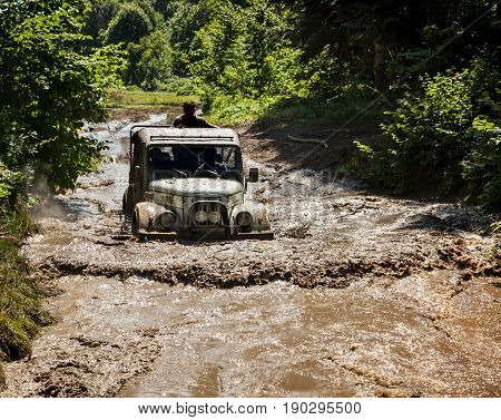 Off-road Vehicle Uaz Of Team