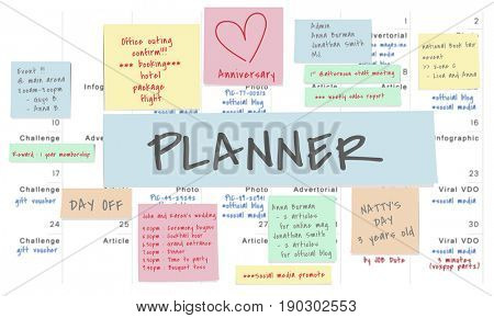 Planner Memo Note Post Appointment Meeting Reminder