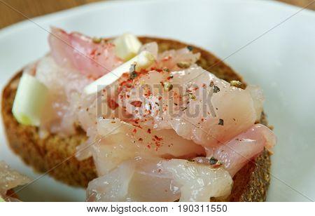 Finnish  Salted Whitefish
