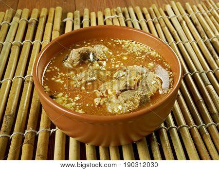 Fish Mango Curry