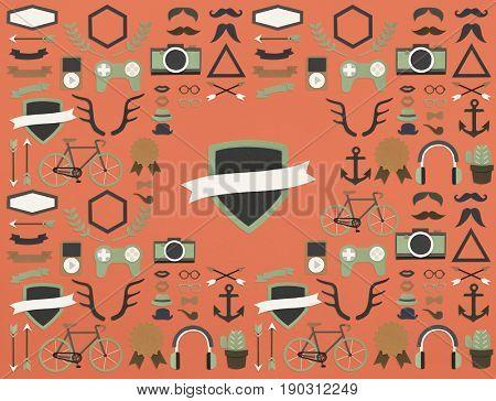 Banner Logo Modern Sign Trademark Copyright