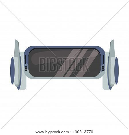 vr gloggles technology digital futurist wireless image vecto illustration