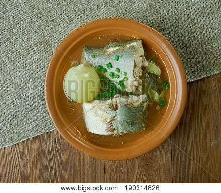 Siberian Fish Soup Of Omul