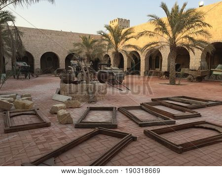Sheikh Faisal Bin Qassim Al Thani Museum is a privately owned museum located in the municipality of Al Rayyan in Qatar. Encompassing an area of 530,000 m², the three-building museum was opened in 1998